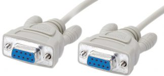 Null Modem Cable 2m (CASIO Comms)