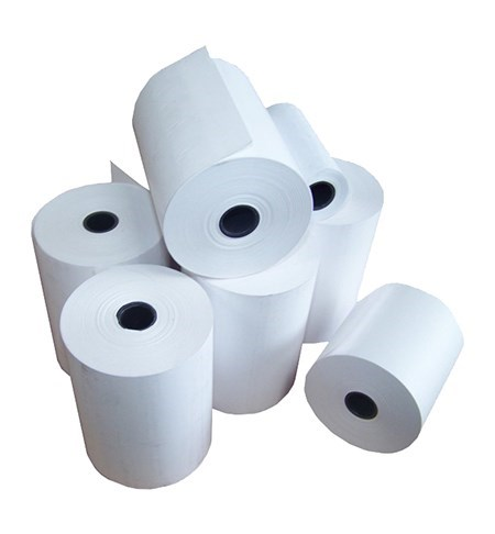 57x57mm bond plain paper register rolls