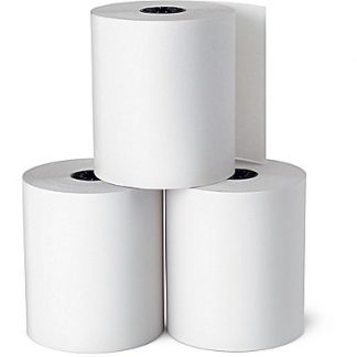 76 x 76mm bond plain paper register rolls