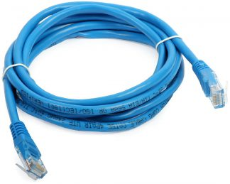 2m Cat5e Blue Network Cable