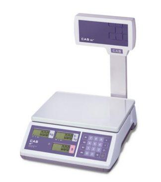 Cas Er Junior 15kg Scale W/Pole