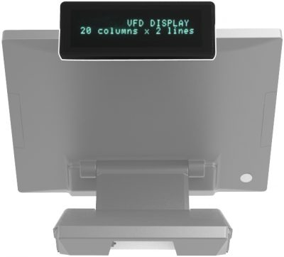 Np-2160 Rear Vfd Display
