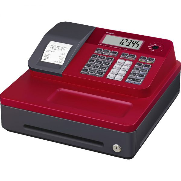 casio seg1s red cash register