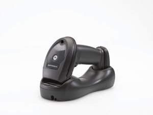 Zebra Li4278 1d Cordless Barcode Scanner Kit - USB Cradle - Black