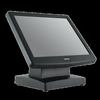POSIFLEX 17 Inch Touch Monitor USB Resistive - Black
