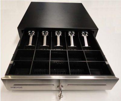 MICROS CASH DRAWER EC410 5N/10C 12V S/S
