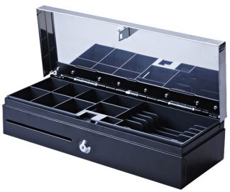 VPOS CASH DRAWER LOCKING LID FLIPTOP