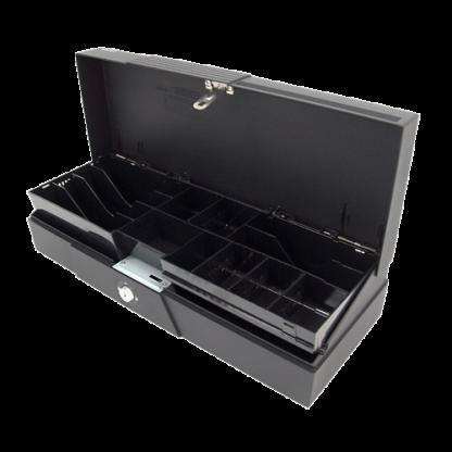 POSIFLEX CR-2225 Fliptop USB Cash Drawer - Black