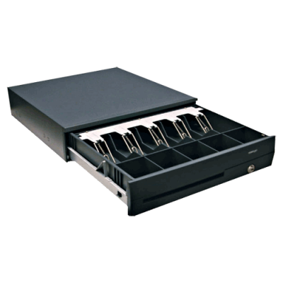 POSIFLEX CR-4101 Smart Interface Cash Drawer - Black