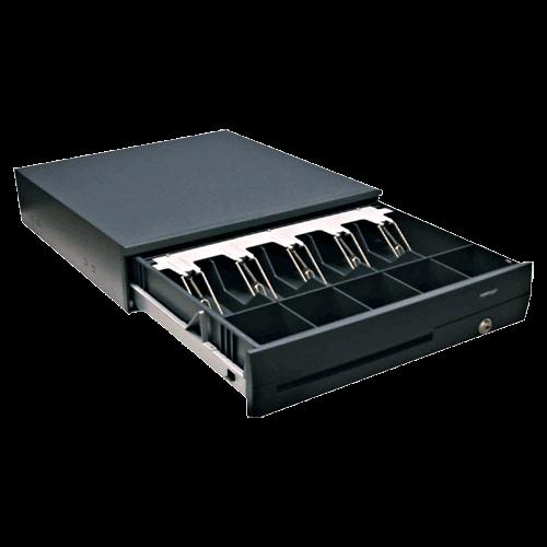 POSIFLEX CR-4105 USB Interface Cash Drawer - Black