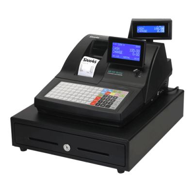 SAM4S NR-520 Cash Register Flat Keyboard