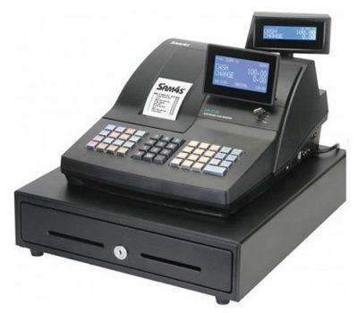 sam4s nr510 cash register raised keyboard