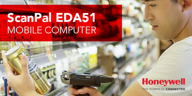 INTRODUCING HONEYWELL SCANPAL EDA51